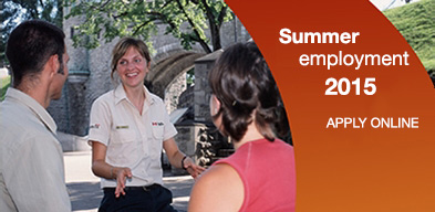 Summer Employment 2015 - Apply online