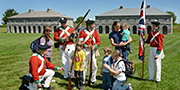 Journey back in time with costumed interpreters at Fort Lennox