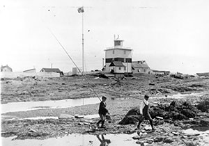 Second lighthouse at the dawn of the 20th century
