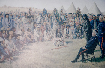 Poundmaker Surrenders