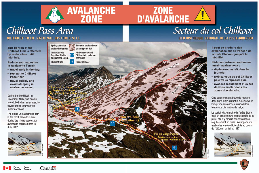 Canadian Side Avalanche Terrain