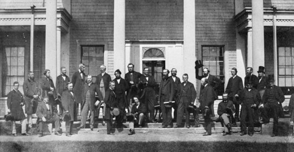 Photo of the Fathers of Confederation