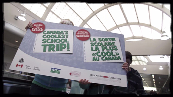 The grand prize winner of the Canada's Coolest School Trip contest is now known! The lucky class will experience a trip of a lifetime in Quebec. Congratulations to all the participants; and a big thank you to the public for voting for their favourite videos!