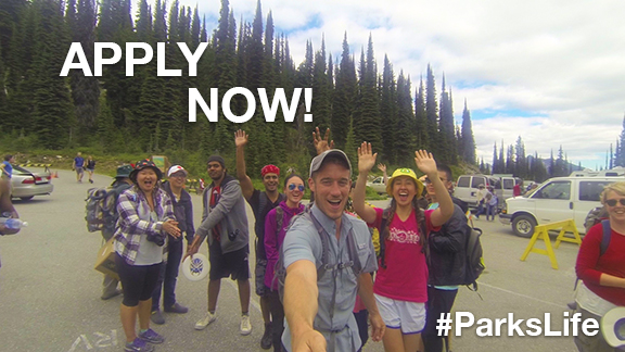 Parks Canada is looking for their 2017 youth ambassadors. Join the #ParksLife and apply for the ultimate summer job!