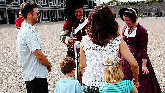 Halifax Citadel National Historic Site is a great place for the whole family. From cannons, defensive walls and the chance to dress up as soldiers, there's no shortage of fun!