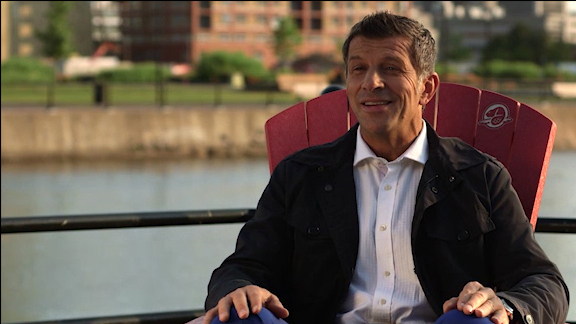 Marc Bergevin recounts his bicycle memories at the Lachine Canal