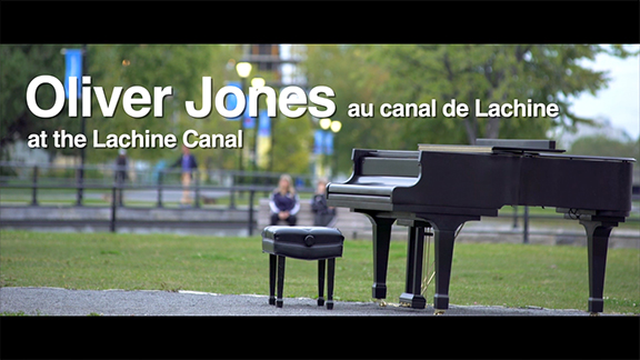 Teaser of Oliver Jones recounting his childhood memories at the Lachine canal to be online soon