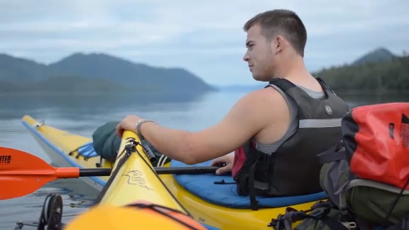 Youth experiencing Gwaii Haanas in its true form over a five day kayak trip based in and around Burnaby Island.