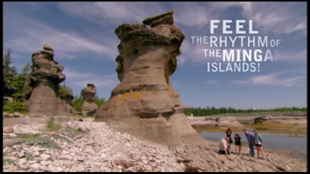 Feel the Mingan Island rythm... - Feel the Mingan Island rythm!