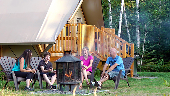 Your fun-filled and relaxing dream vacation becomes a reality at La Mauricie National Park