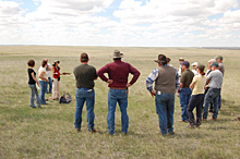 Grasslands NP is working with other federal partners and the Government of Saskatchewan to support ranchers and regional pasture managers, who are important stewards of the land