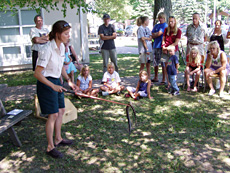 Community presentation on Eastern Massasauga rattlesnake