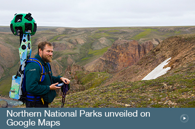 Northern National Parks unveiled on Google Maps