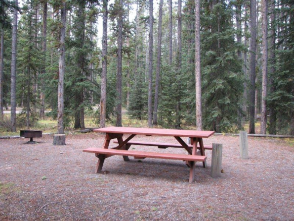 Lake Louise tent campground - Banff National Park
