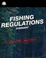 Fishing regulations summary 2017-2018