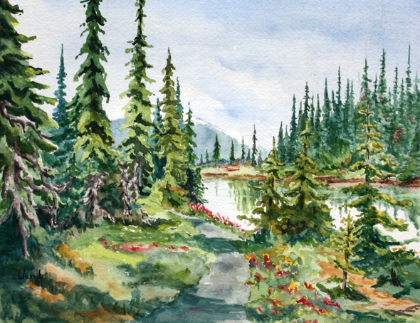 Summer Flowers Come to Balsam Lake - Wendy Mould