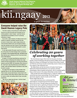 Kii.ngaay 2013: A Year in Review