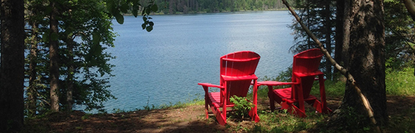 Red Chairs in RMNP
