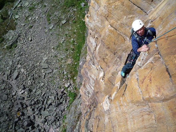 The Mountain National Parks are home to some great traditional climbing routes