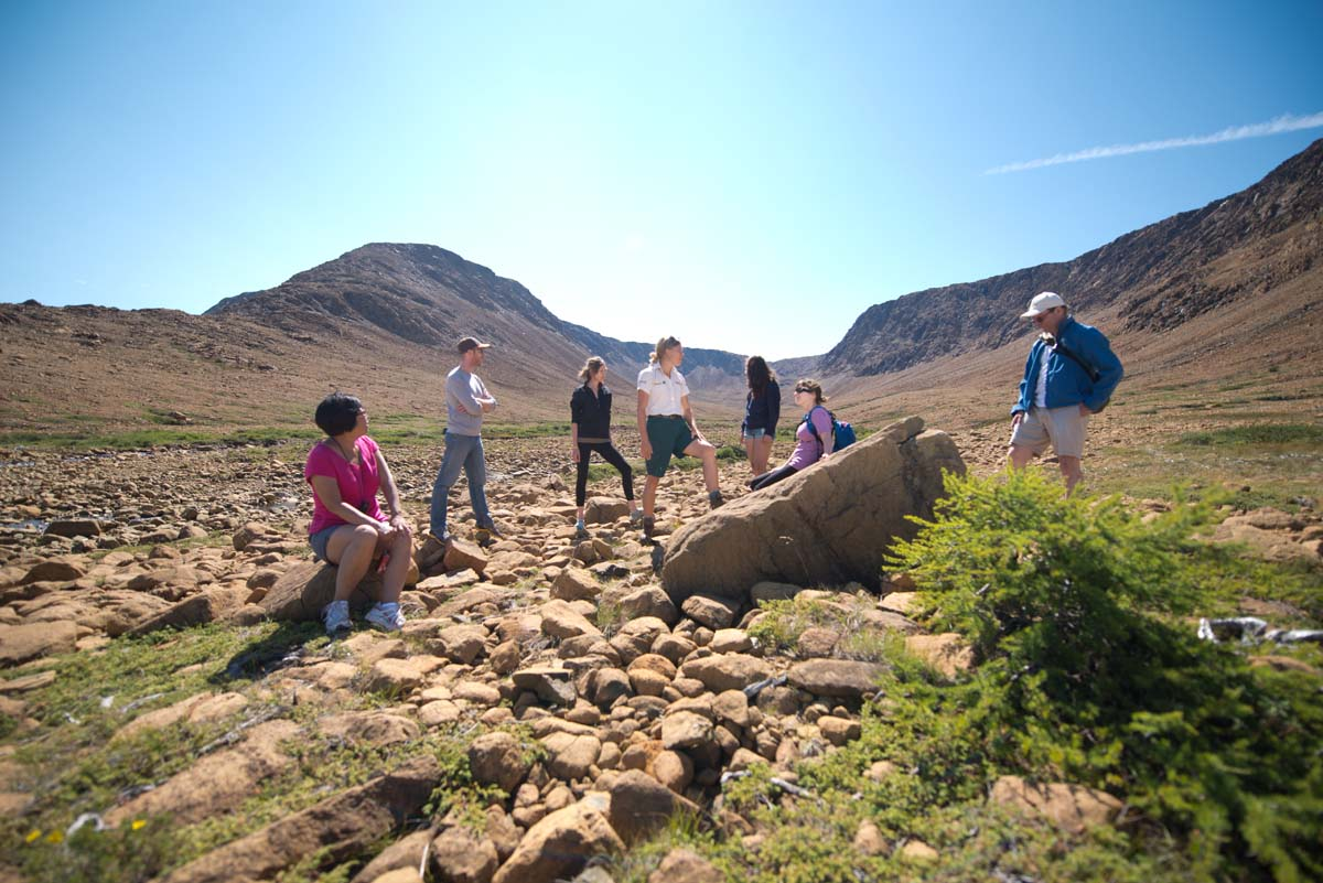 Tablelands Trail Walk