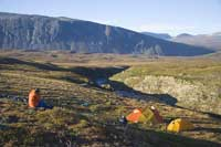 Camping in Torngat Mountains National Park