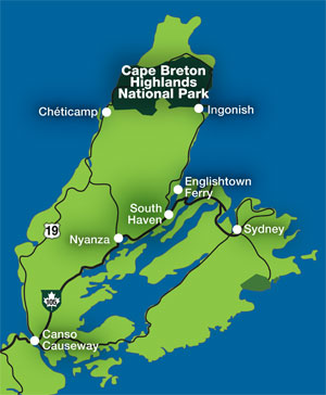 Getting here   Cape Breton Highlands National Park