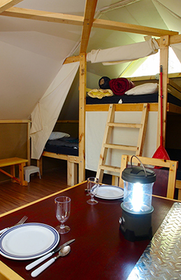 Camping Water Container >> oTENTik tents - Kejimkujik National Park and National Historic Site