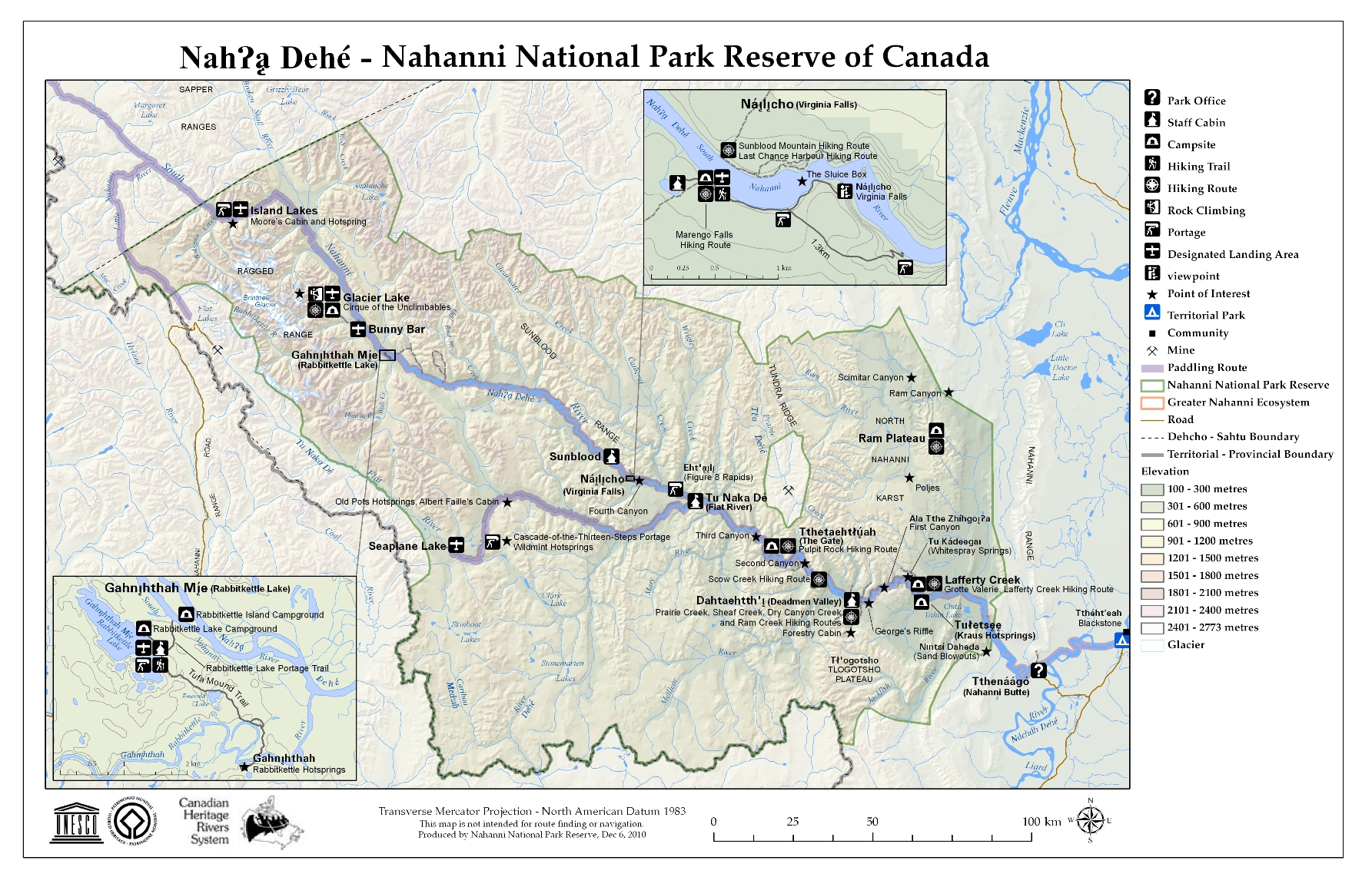 How to Get There  Nahanni National Park Reserve