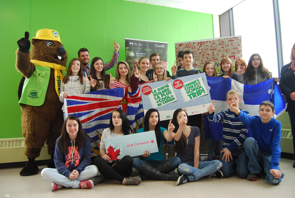 Winners of The coolest school trip in Canada