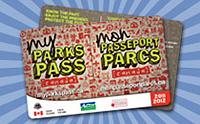 My Parks Pass card