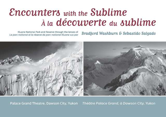 Encounters with the sublime poster