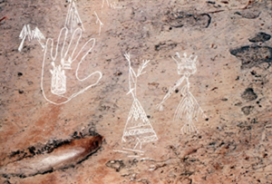 Mi'kmaq petroglyphs from the 18<sup>th</sup> and 19<sup>th</sup> centuries at Kejimkujik National Park of Canada (N.S.)