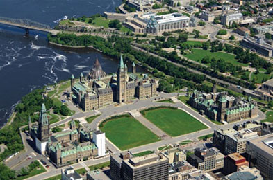 Parliament Buildings and Public Grounds, National Historic Site of Canada of Parliament Hill, Ottawa, Ontario