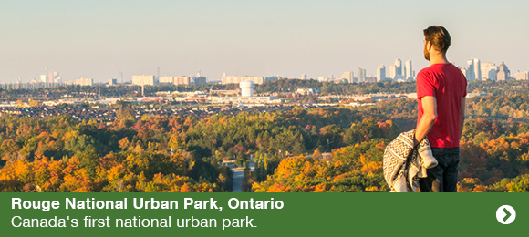 Rouge National Urban Park, Ontario. Canada's first national urban park