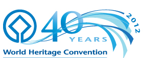 World Heritage Convention 40th anniversary celebration - Logo