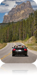 Bow Valley Parkway, Banff National Park of Canada