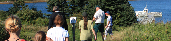 Learning Experiences at Canso Islands National Historic Site