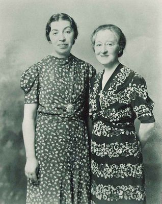 Photo d'Emma et Eleanor Bartlett