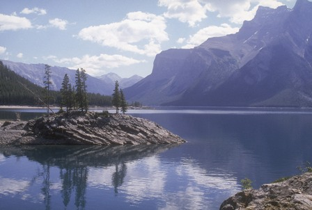 Lac Minnewanka, parc national Banff