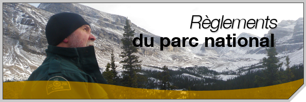 Règlements du parc national