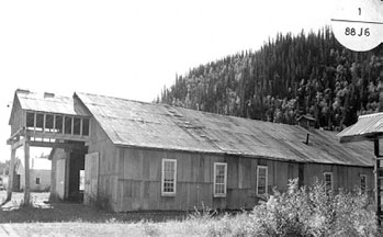 Atelier d'usinage (bâtiments no 1 et 2) Complexe de Bear Creek, Bear Creek, Yukon