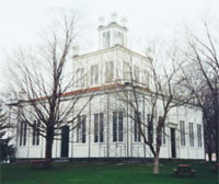 Sharon Temple, Ontario - Elegant 1825-1832 Temple of Davidite Sect