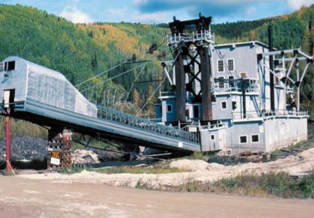 Dredge No. 4, Yukon Territory - Gold Mining in the Klondike