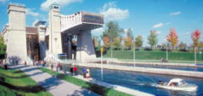 Peterborough Liftlock, Ontario - World's Highest Hydraulic Liftlock (1896-1904)