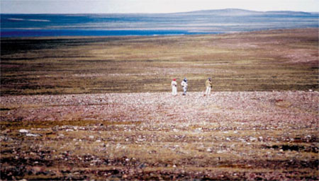 Fall Caribou Crossing, Nunavut - Site of Critical Importance to the Historical Survival of Inuit Community