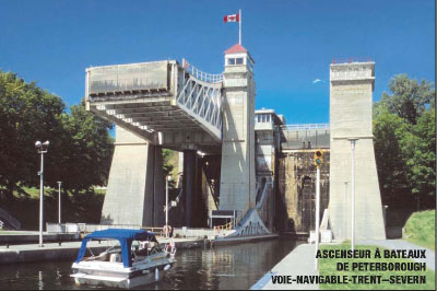 Peterborough Lift-Lock, Trent–Severn Waterway