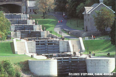 Ottawa Locks - Rideau Canal