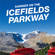 Summer on the Icefields Parkway