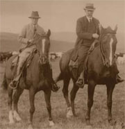 Prince of Wales and George Lane (circa 1919)