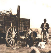 Roundup Chuckwagon (circa 1900)
